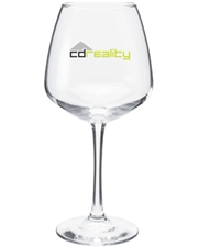 Clear 18.25 oz. Vina Diamond Wine