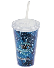 Impress 16 oz. Double-Walled Acrylic Tumbler