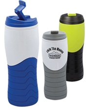 Amplitude 16 oz. Double Wall Tumbler with Flip Lid
