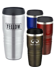 Model C 16 oz. Screw-On Lid Stainless Steel Tumbler