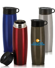 Quixote 16 oz. Double-Walled Stainless Steel Tumbler