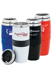 Magnum 16 oz. Stainless Steel Tumbler with Acrylic Exterior