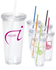 24 oz. Acrylic Double Wall Tumbler