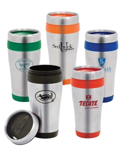 Nimbus 16 oz. Stainless Steel Travel Mug with Plastic Liner