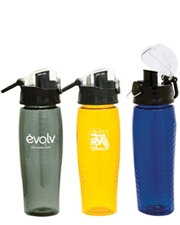 Rain 22 oz. Water Bottle with Pop-Up Lid