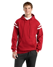 Sport-Tek - Pullover Hooded Sweatshirt with Mesh Arm Stripe
