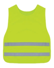Kids  Lime Round Neck Vest