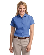 Port & Company® - Ladies Easy Care Short Sleeve Shirt