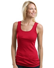 Port Authority Ladies Rib Stretch Tank Top