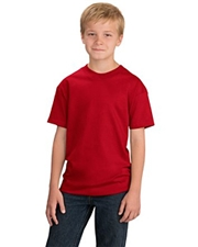 Port & Company® - Youth 100% Cotton Essential T-Shirt.