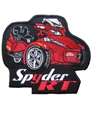 Spyder RT Patch Series II Red