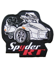 Spyder RT Patch Series II White