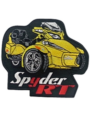 Spyder RT Patch Series II Yellow