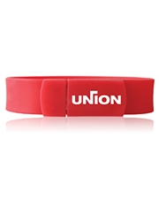 Union Flexible Silicone Bracelet USB Flash Drive