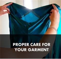 Proper Care for Your Garment