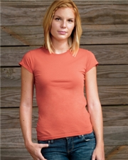 Alternative Ladies' 4.1 oz. Cap-Sleeve Crew