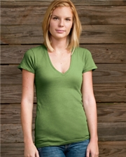 Alternative Ladies' Short-Sleeve V-Neck