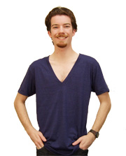 American Apparel Unisex Short-Sleeve Deep V-Neck