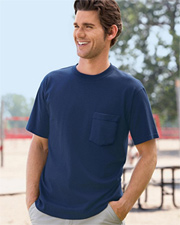 Anvil 6.1 oz Cotton Pocket T-shirt