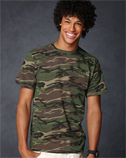 Anvil Adult Camouflage T-Shirt