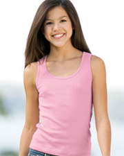 Bella Girl 2x1 Rib Tank Top