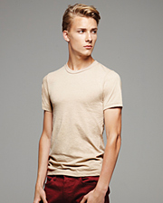 Canvas Men's Heather Jersey Short-Sleeve T-Shirt