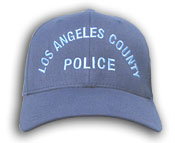 Blue LA County Hat