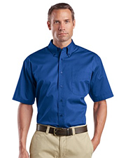 CornerStone Short Sleeve SuperPro Twill Shirt