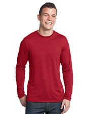 District Young Mens Textured Long Sleeve Tee