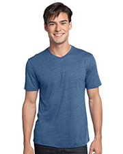 District Young Mens Textured Notch Crew Tee