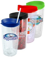 Tiber 16oz Double-Wall Acrylic Tumbler with VibraPrint Insert