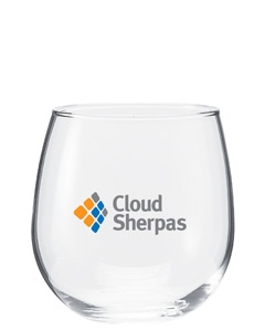 Clear 16.75 oz Vina Stemless Red Wine
