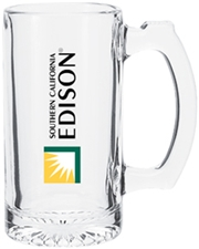 Clear 12.5 oz. Glass Mug