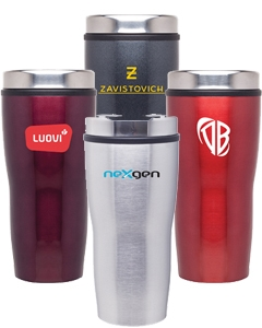 Stealth 16 oz. Stainless Steel Tumbler