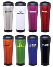 Cara 18 oz. Stainless Steel Tumbler with Plastic Liner