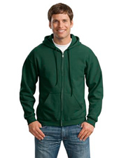 18600 Gildan Adult Heavyweight 50/50 Full-Zip Hooded Sweatshirt