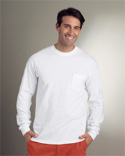Gildan Ultra Cotton® 6.1 oz. Long-Sleeve Pocket T-Shirt