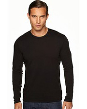 Next Level 3601 Men's Long Sleeve Slim Fit Crew