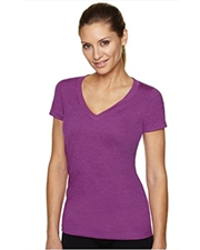 Next Level Ladies' CVC Deep V