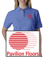 Pavilion Floors Ladies Polo Style Shirt