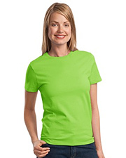 Port & Company Ladies 100% Cotton Essential T-Shirt.