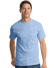 Port & Company 100% Cotton T-Shirt with Pocket