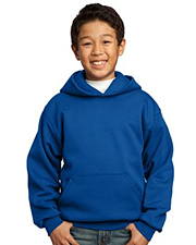 Port & Company Youth Pullover Hooded Fleece