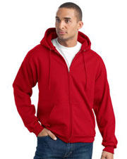 PC90ZH  Port & Company® - Full Zip Hooded Sweatshirt
