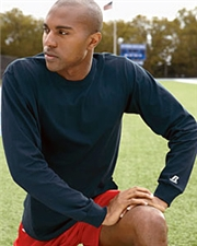 Russell 68914M Athletic Long-Sleeve Cotton T-Shirt