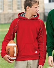 Russell 955EFB Athletic Youth Tech Fleece Pullover Hood