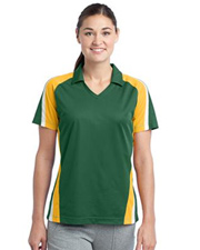Sport-Tek Ladies Tricolor Micropique Sport-Wick Polo
