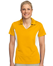 Sport-Tek - Ladies Side Blocked Micropique Sport-Wick Polo