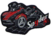 Spyder RS Patch Series II Red