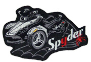 Spyder RS Patch Series II Silver